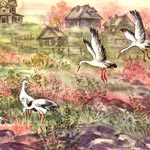 Animal painter art sample