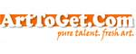 ArtToGet.com art gallery logo