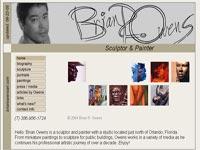 Brian Owens Art Art gallery screenshot