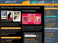 Artrepublic Art gallery screenshot