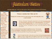 Australian Landscapes Art gallery screenshot