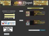 Michael U Johanson Art gallery screenshot