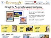 Eye of the art Art gallery screenshot