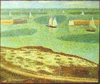 Pointillism art example